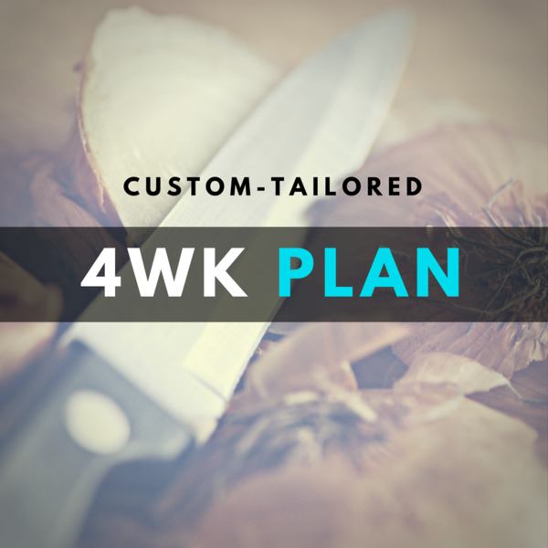 4-Week Diet Plan - Custom!