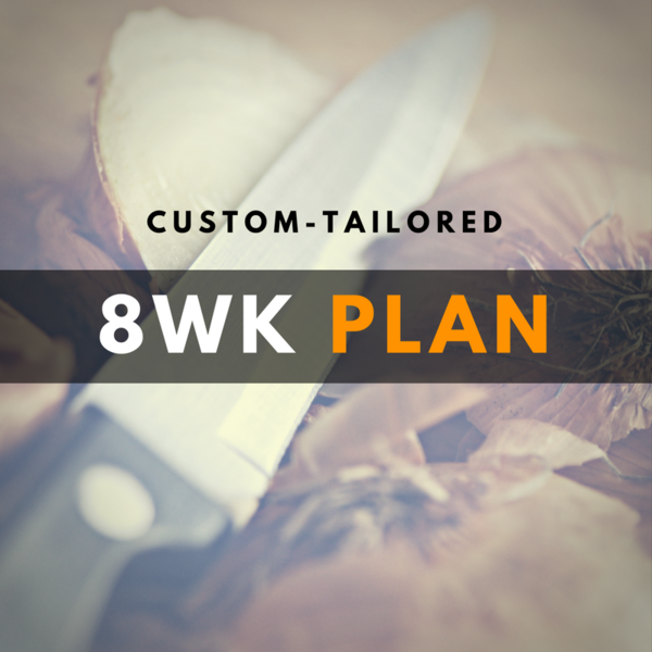8-Week Diet Plan - Custom!