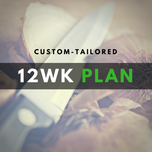 12-Week Diet Plan - Custom!